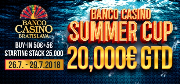 Banco Casino Summer Cup o €20,000